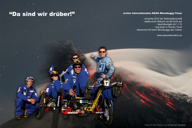 Award-Zeremonie des Weltmeisters im NASA Moonbuggy Race